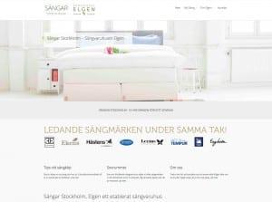 Sängar i Stockholm till Sänghuset Elgen
